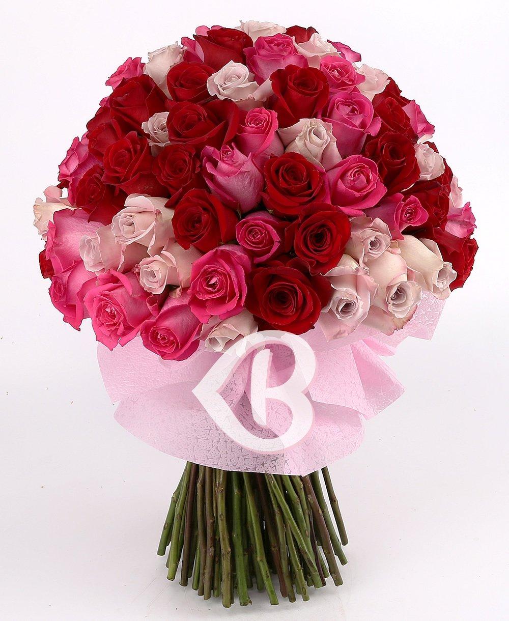 Imaginea produsului 99 Trandafiri Romantici