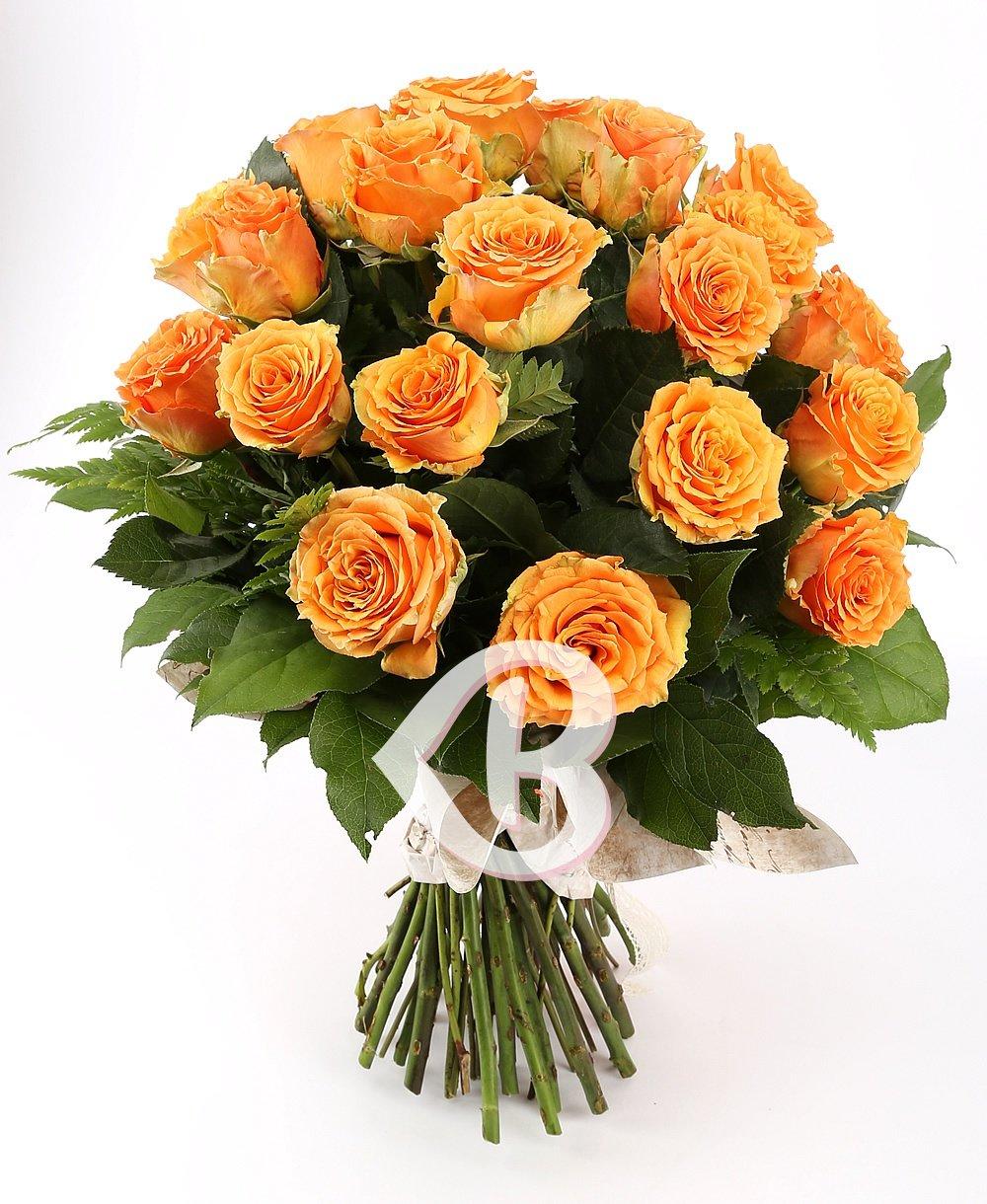 Imaginea produsului 25 trandafiri portocalii