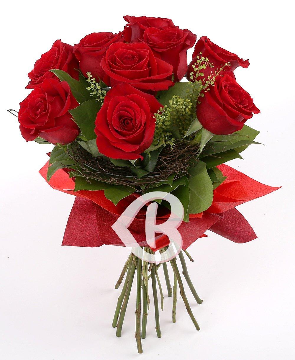 Imaginea produsului 9 Trandafiri roşii