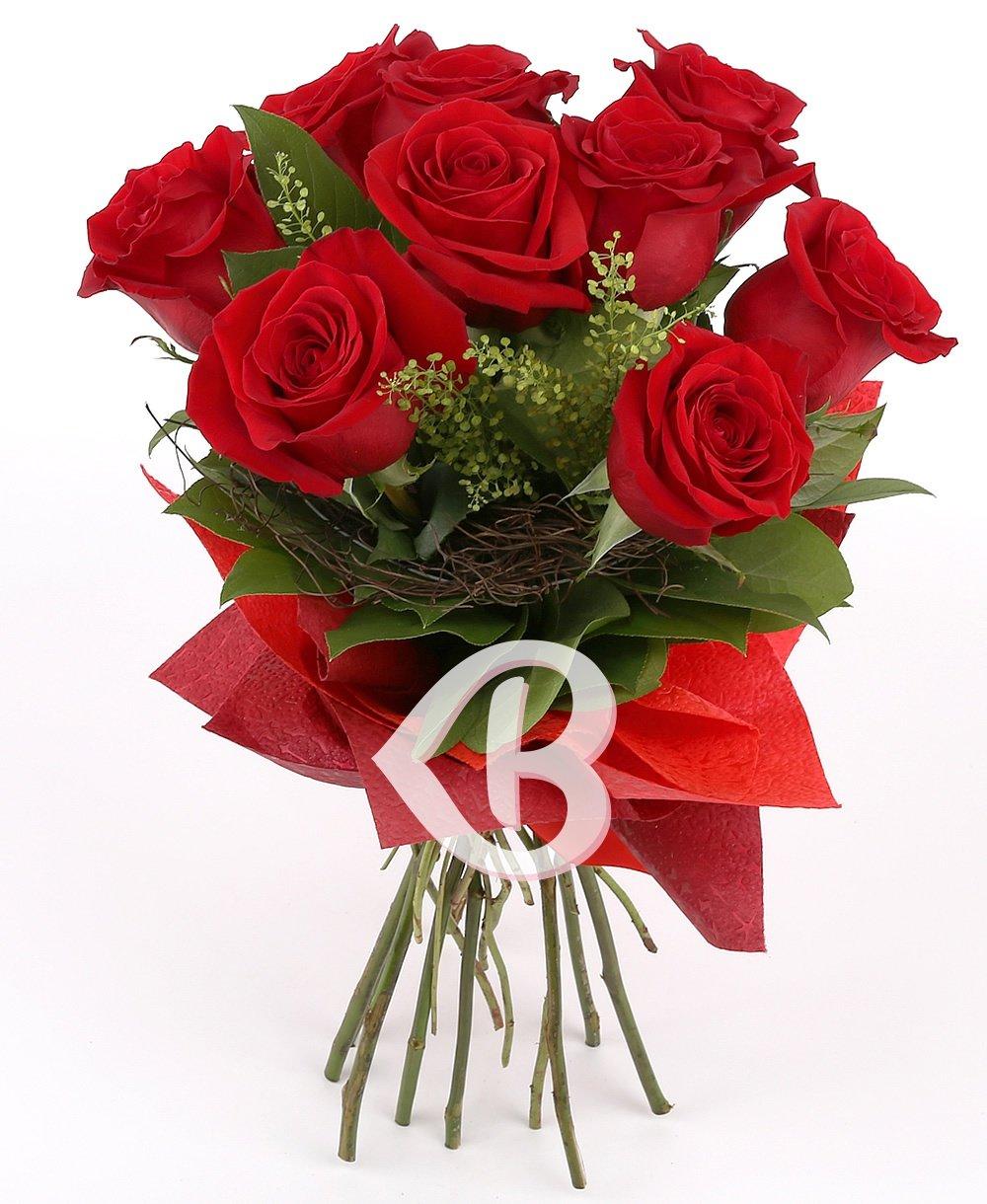 9 Trandafiri roșii