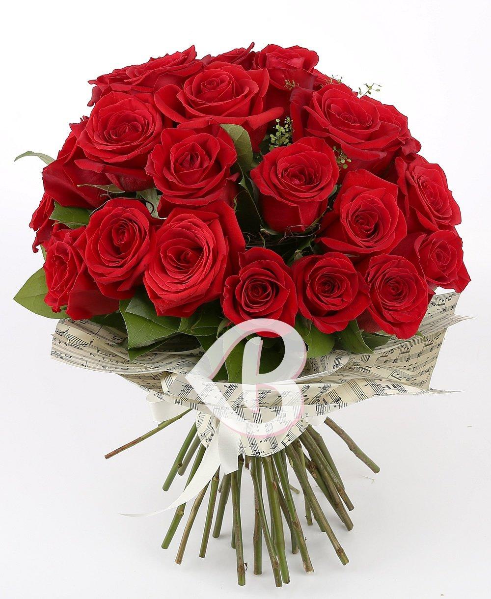 Imaginea produsului 25 Trandafiri minunați roșii