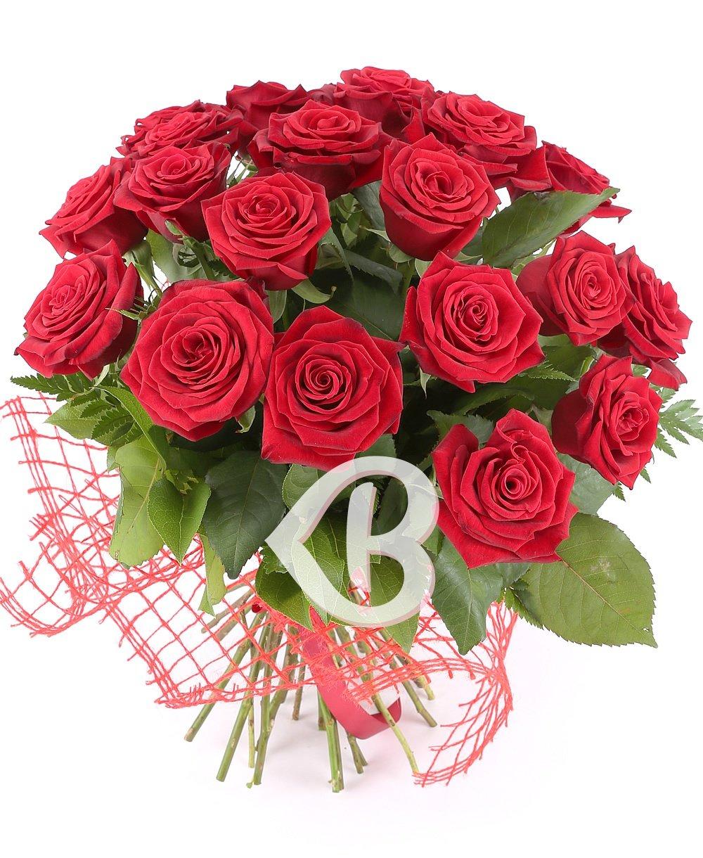 Imaginea produsului 21 Trandafiri Roșii