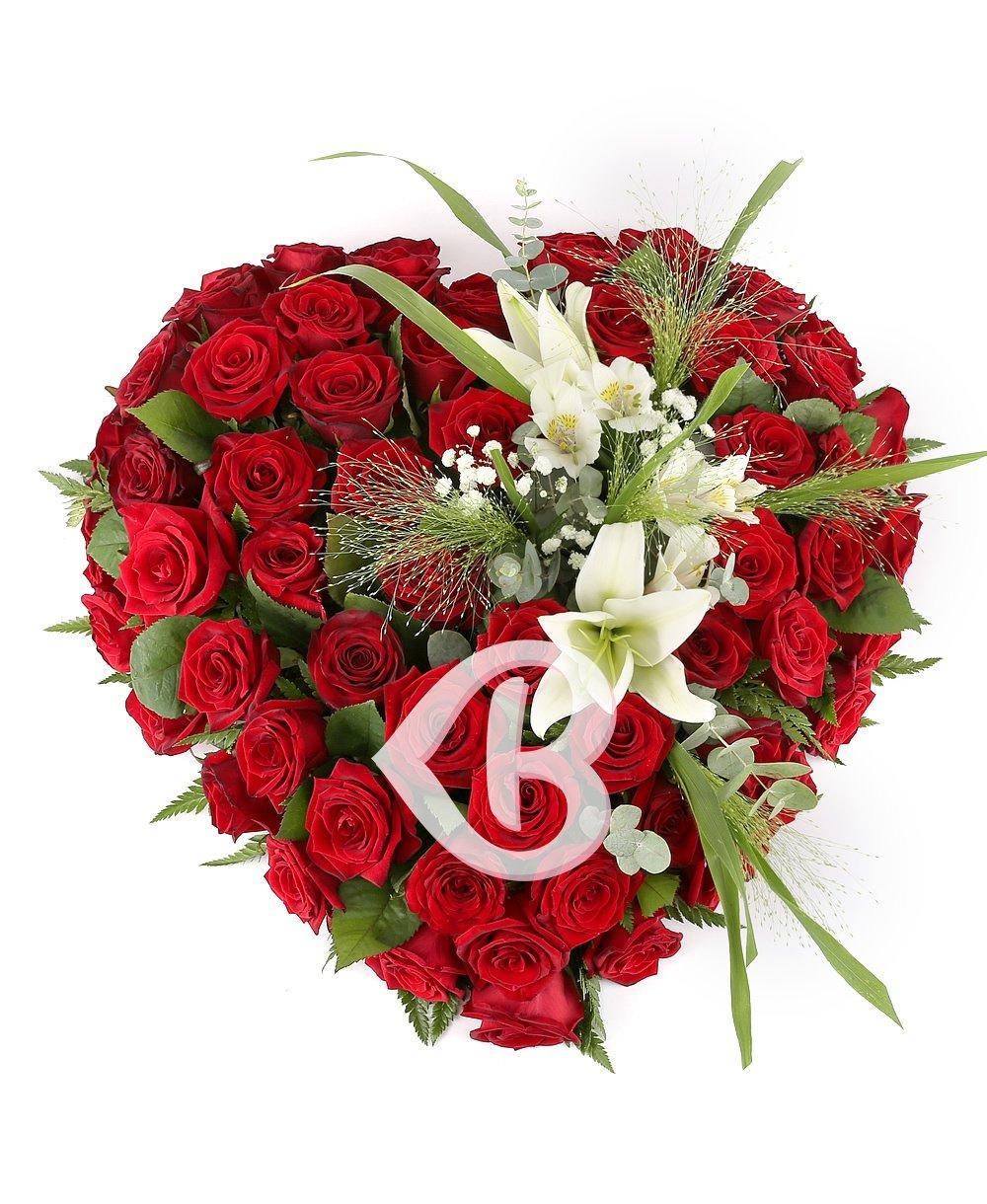 Imaginea produsului Aranjament funerar inimă