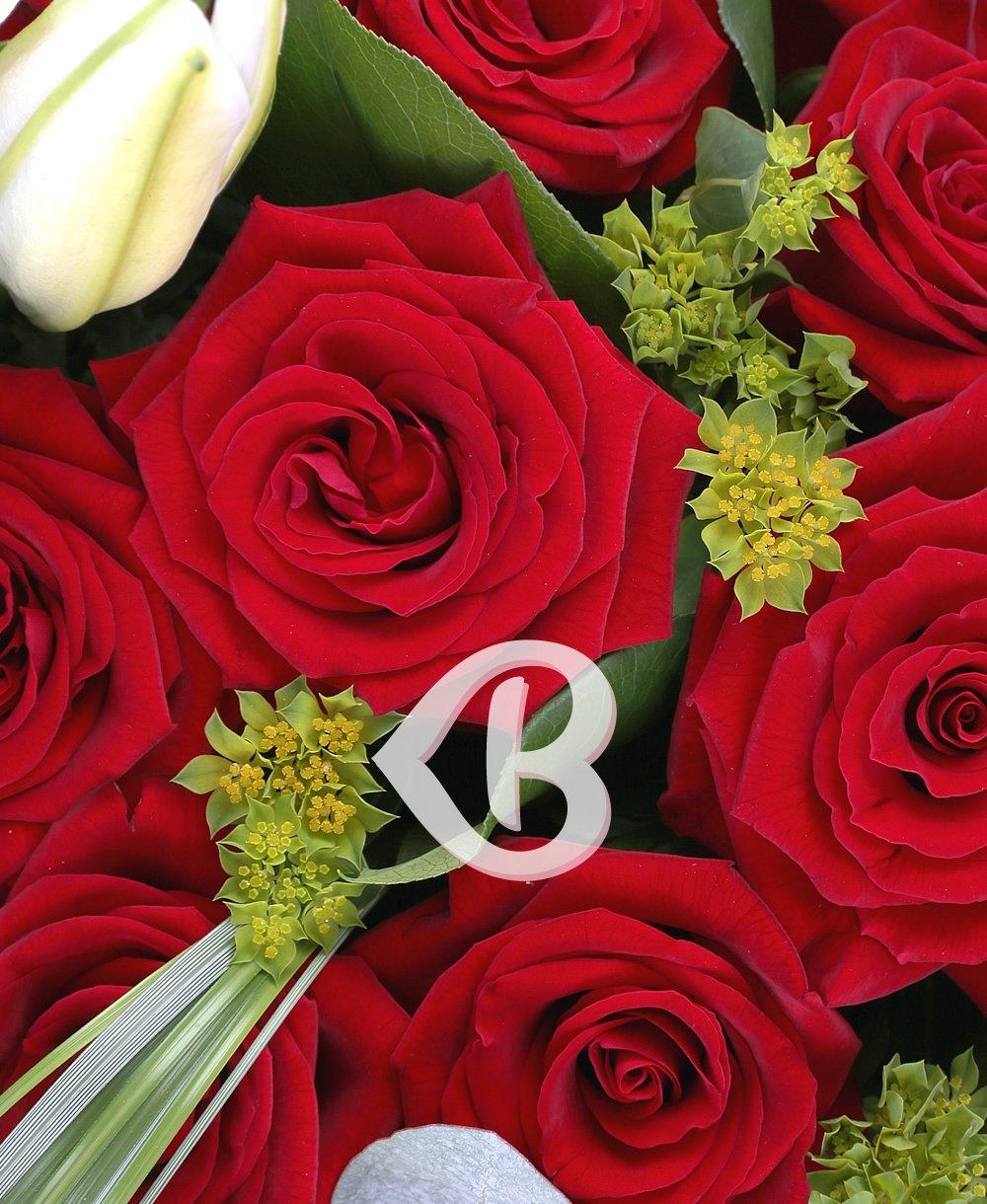 Imaginea produsului trandafiri inimoși