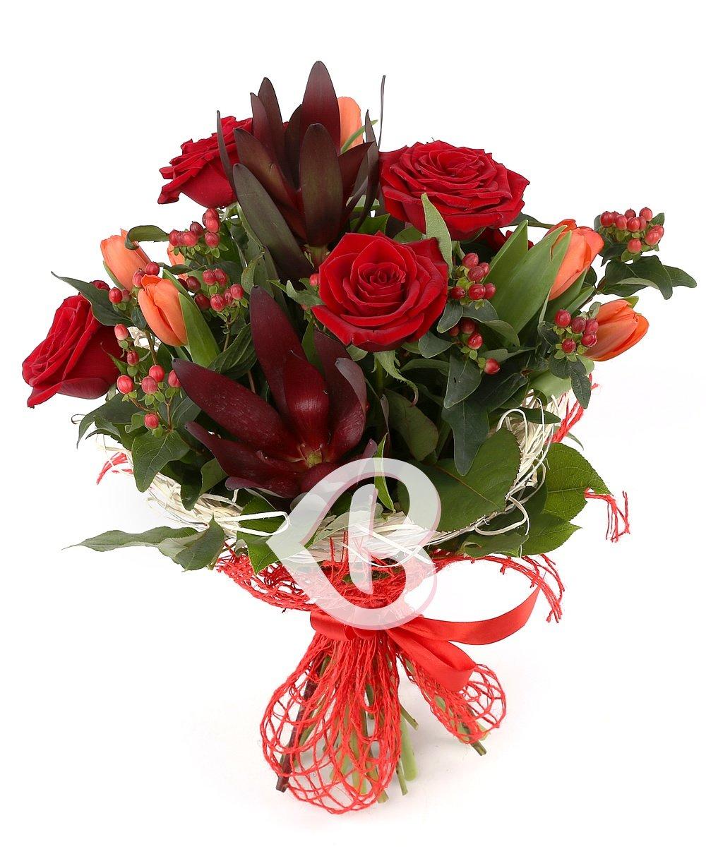 Imaginea produsului Trandafiri și Lalele Amoroase