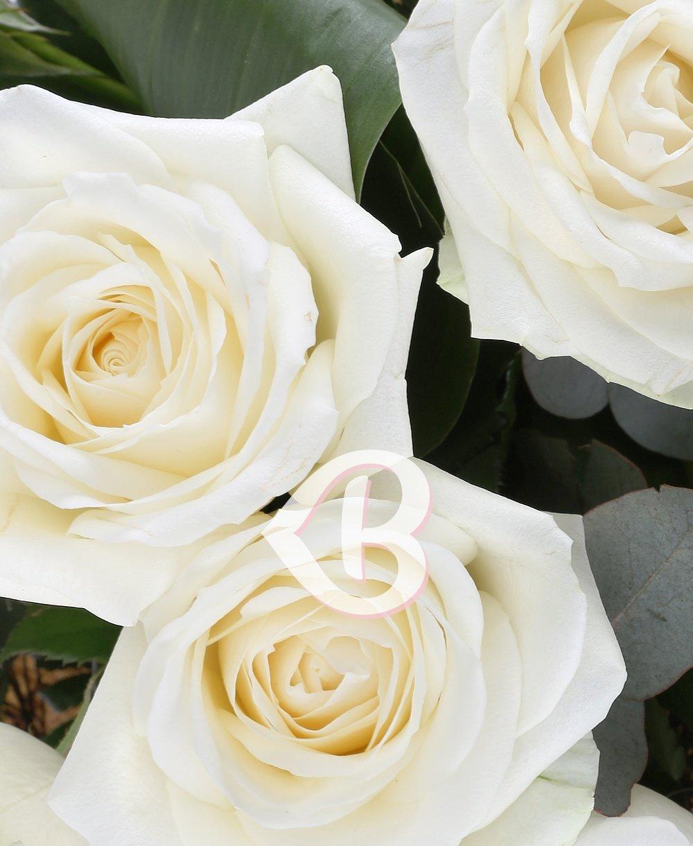 Imaginea produsului 7 trandafiri albi