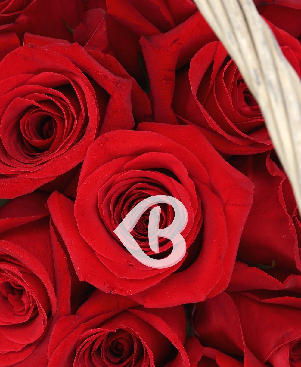 Imaginea produsului 23 Trandafiri Roșii In Coș