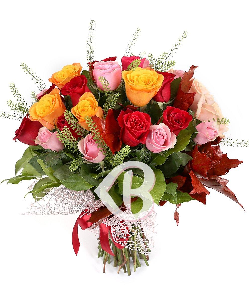 Imaginea produsului 31 trandafiri multicolori