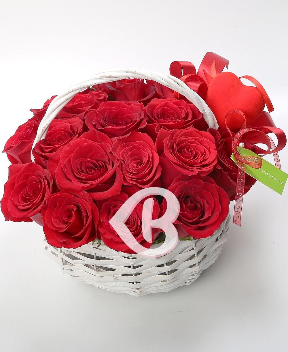 Imaginea produsului Coș Valentine Day