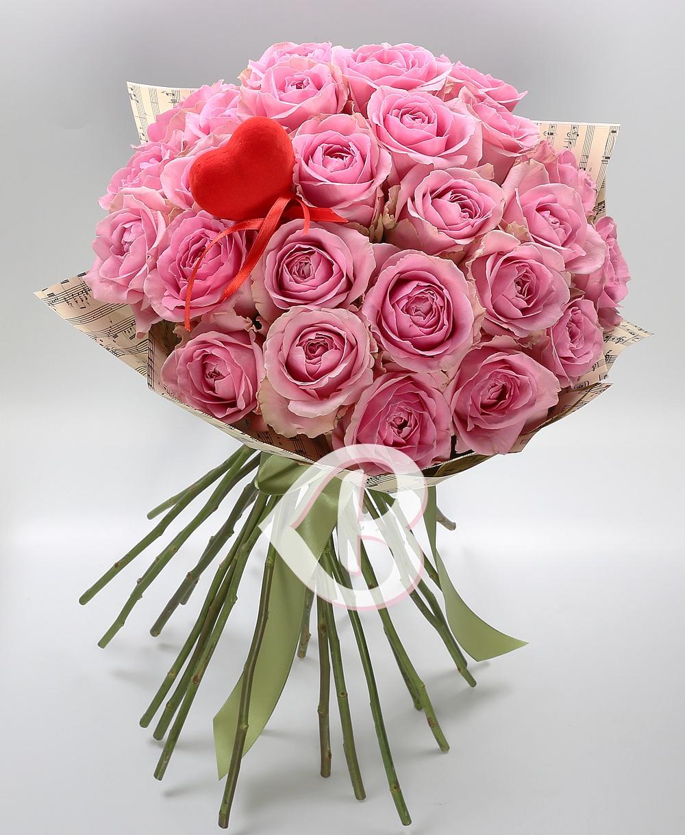 Imaginea produsului 25 Trandafiri Roz