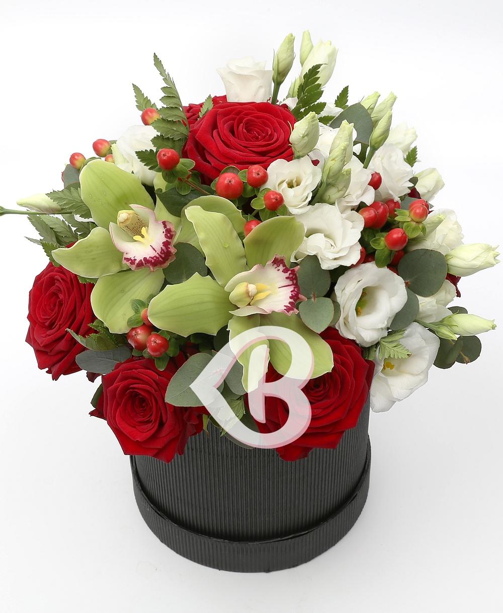Imaginea produsului Cutie Cu Flori Elegantă