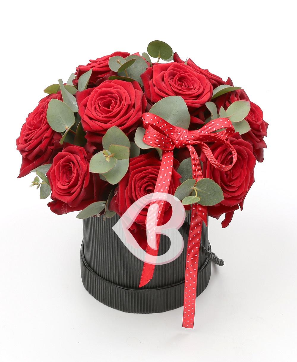Imaginea produsului Cutie Cu 11 Trandafiri Roșii