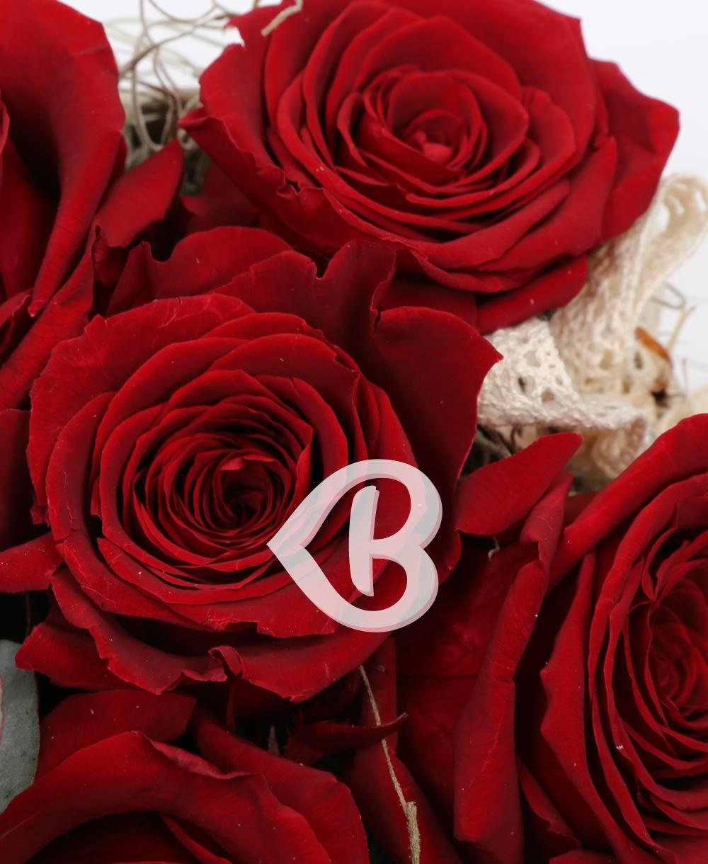 Imaginea produsului Cutie 5 Trandafiri Criogenați Roșii