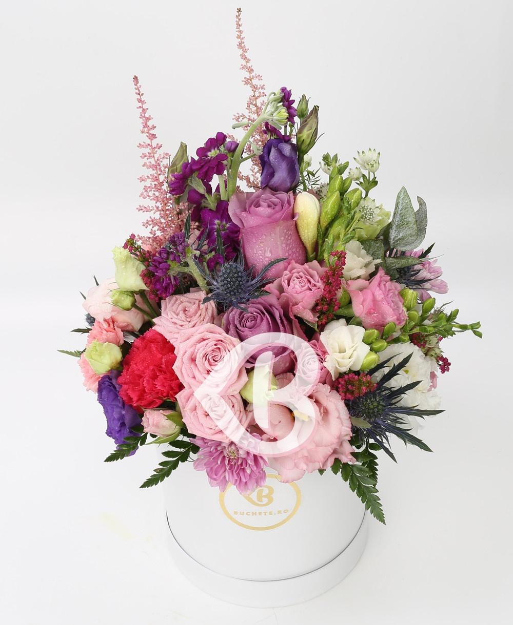 Imaginea produsului Cutie Cu Flori Distinse
