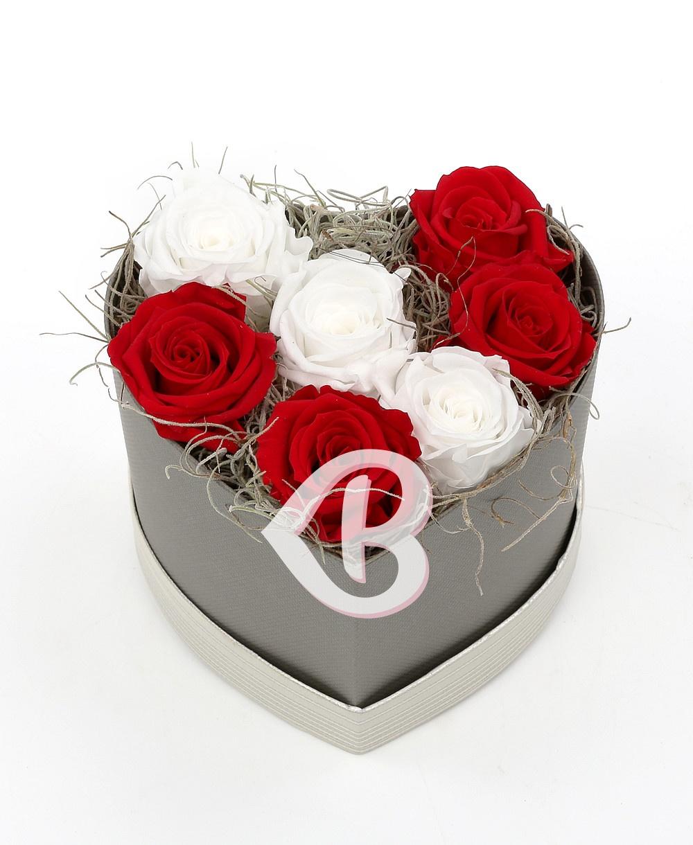 Imaginea produsului Cutie în Forma De Inimă Cu 7 Criogenați
