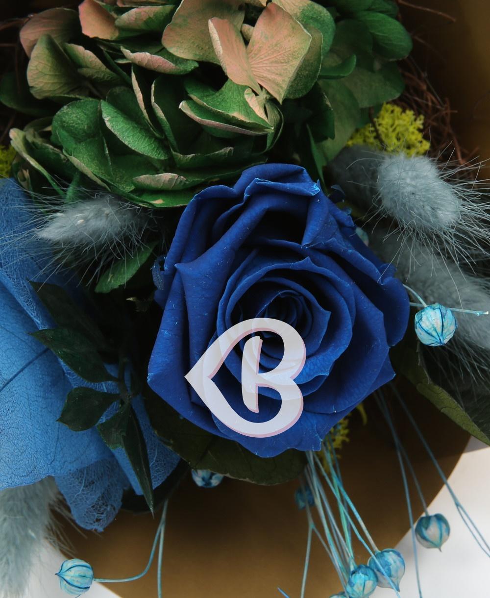 Imaginea produsului Buchet Trandafir Albastru Criogenat