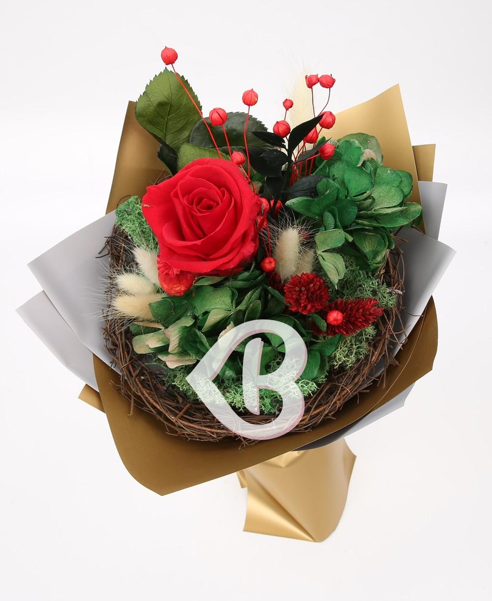 Imaginea produsului Buchet Trandafir Roșu Criogenat