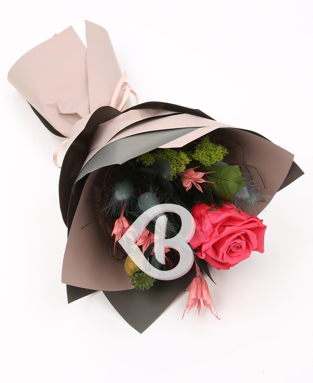 Imaginea produsului Buchet Trandafir Roz Criogenat